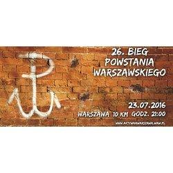 26. Bieg Powstania Warszawskiego z PKO Bankiem Polskim