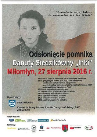 """PKO Bank Polski wspiera upamiętnienie Danuty Siedzikówny """"Inki"""""""