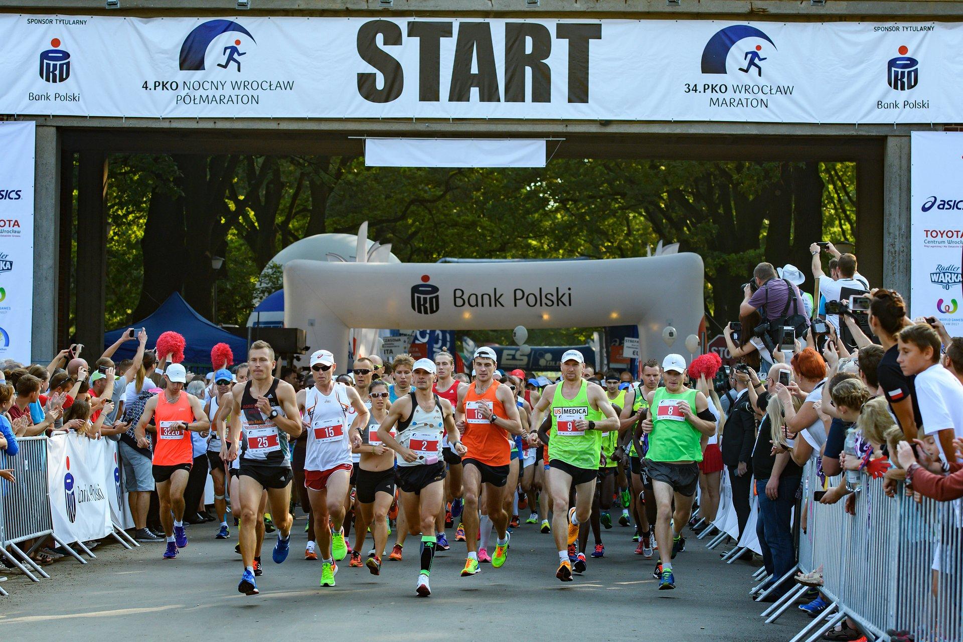 Ponad 4 tysiące maratończyków pobiegło z PKO Bankiem Polskim we Wrocławiu