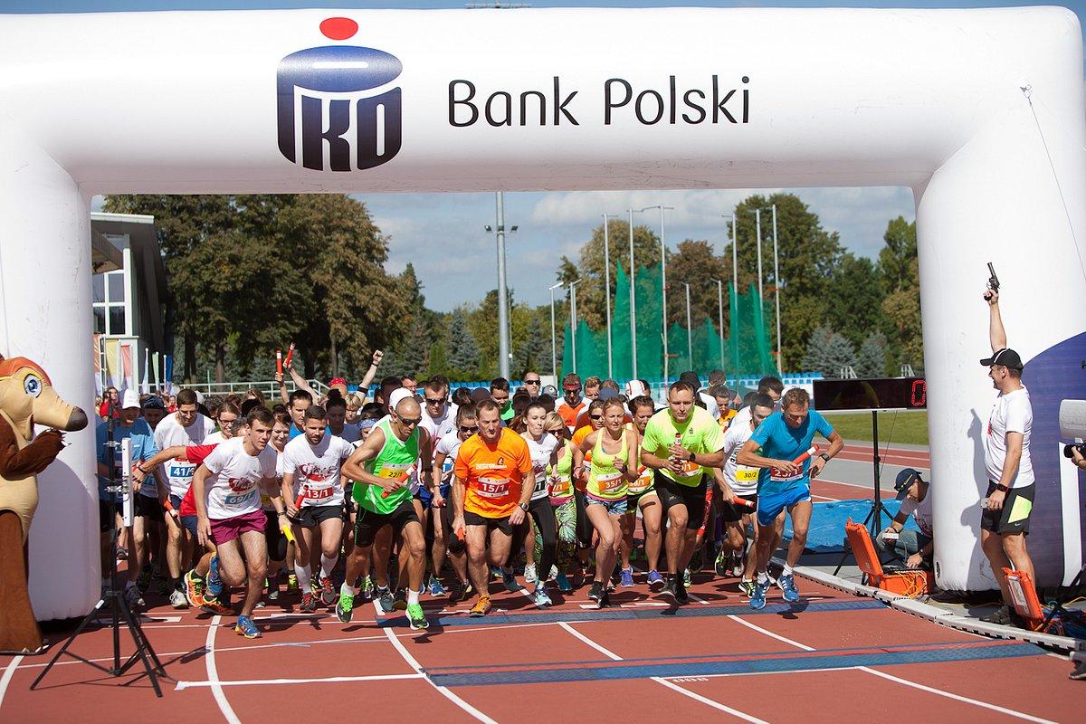 Zawodnicy 2. PKO Biegu Charytatywnego w Warszawie wybiegali najwięcej okrążeń w Polsce