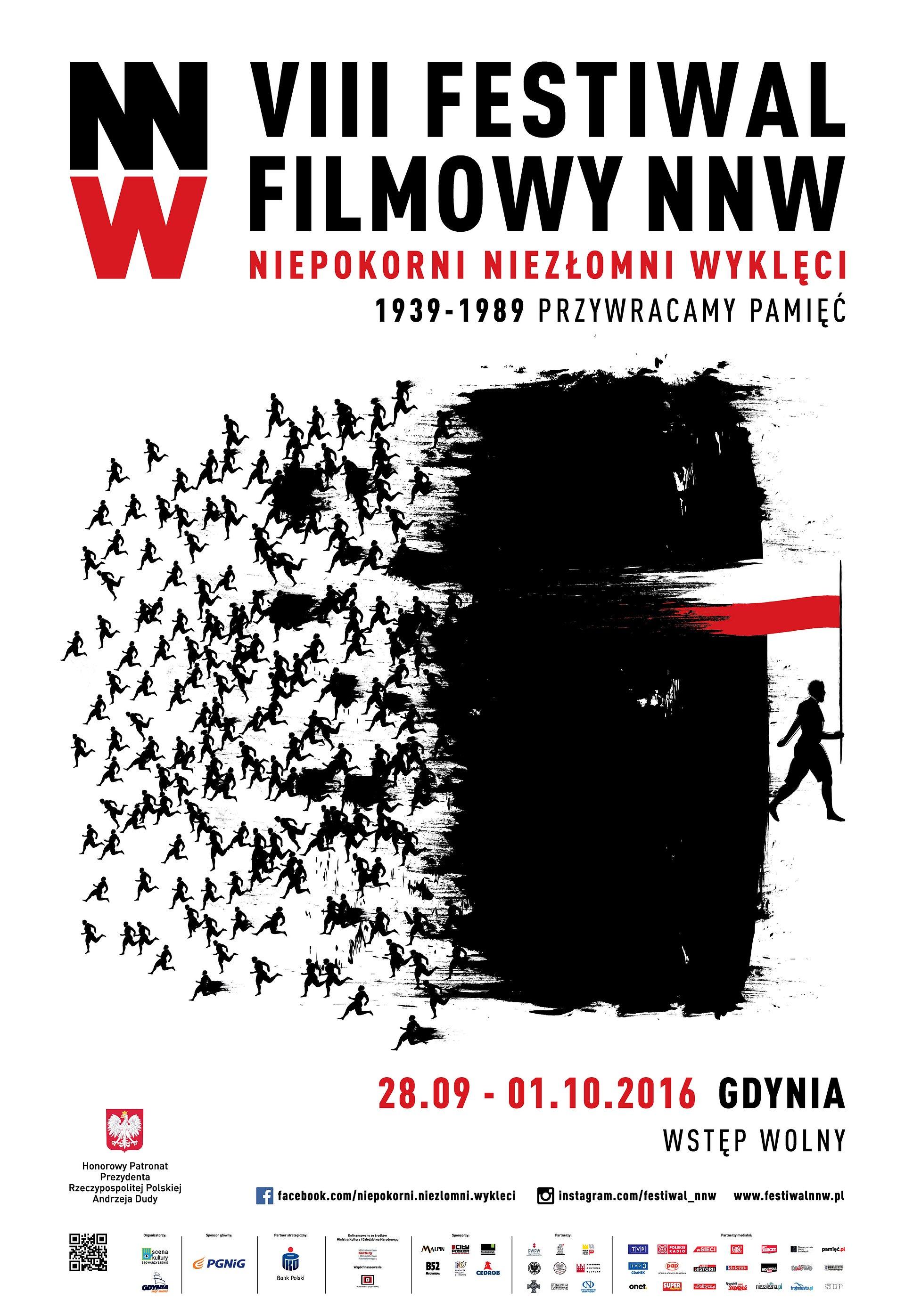 """VIII Festiwal Filmowy NNW """"Niepokorni, Niezłomni, Wyklęci"""" z PKO Bankiem Polskim"""