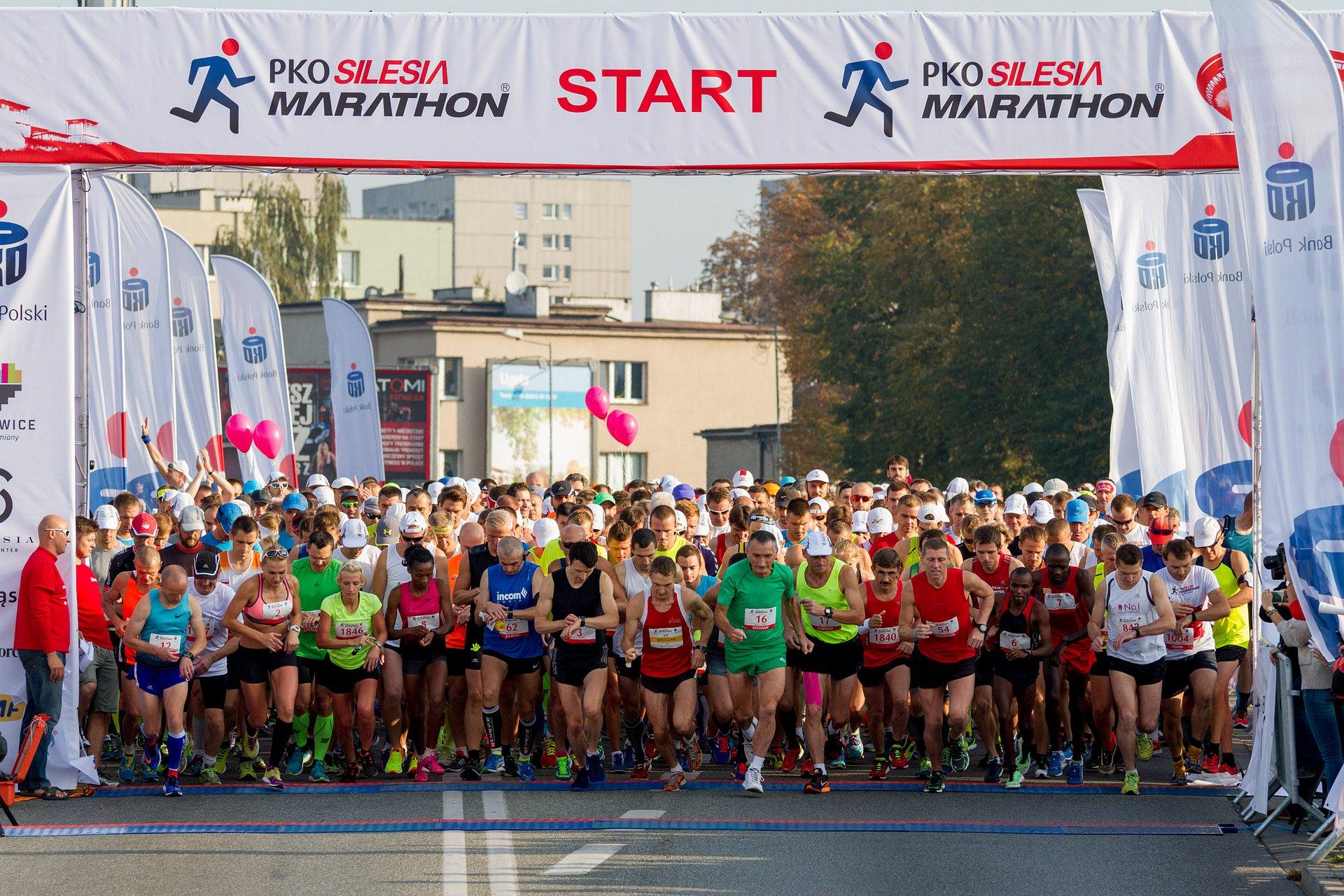 Rekordowy PKO Silesia Marathon z PKO Bankiem Polskim