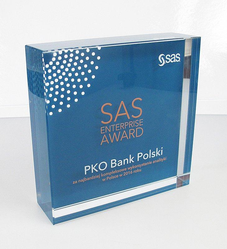 PKO Bank Polski uhonorowany SAS Enterprise Award