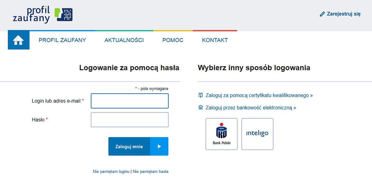 Klienci PKO Banku Polskiego załatwią sprawy urzędowe przez internet