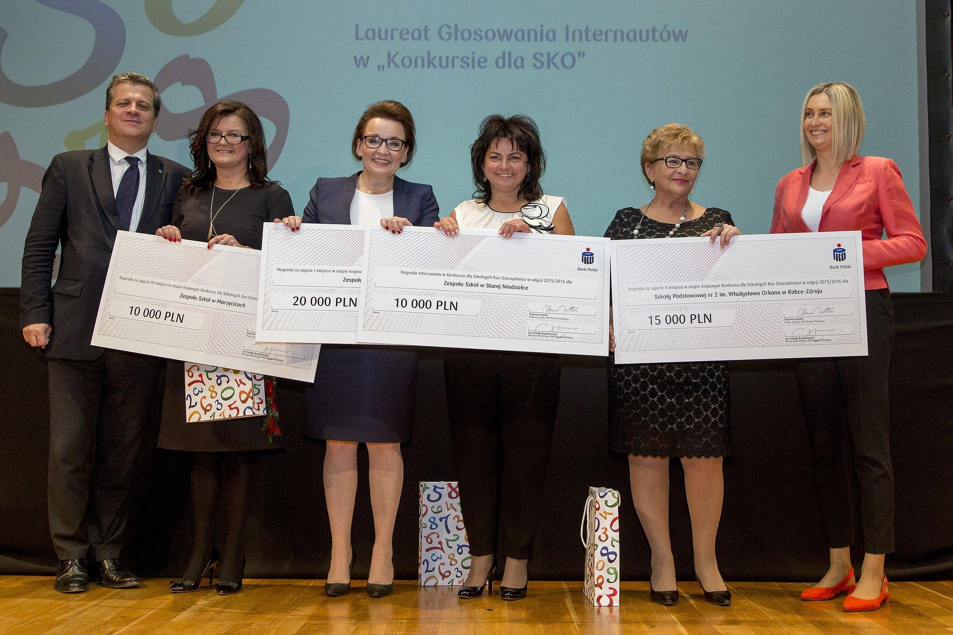 Nagrody dla nauczycieli opiekunów SKO przyznane