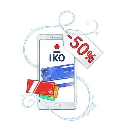 Rabat na smartfon, bonus za doładowanie, tańszy bilet – promocje z IKO trwają!