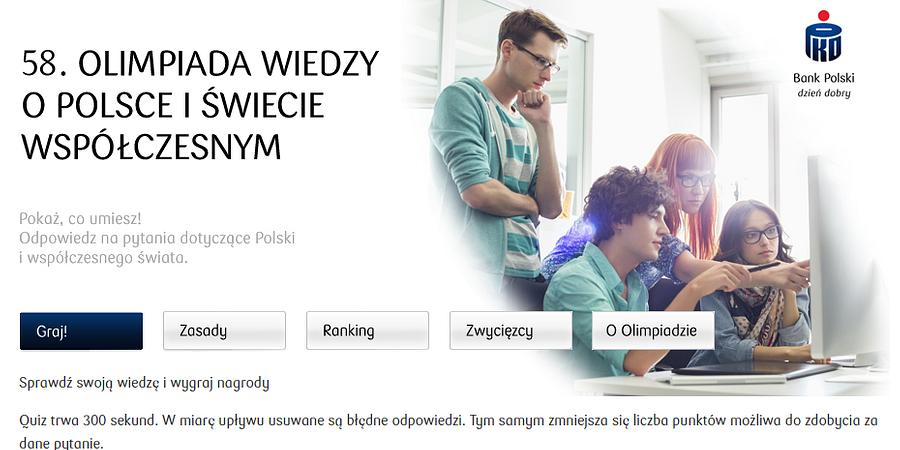 Zdobywaj wiedzę i nagrody z aplikacją PKO Banku Polskiego