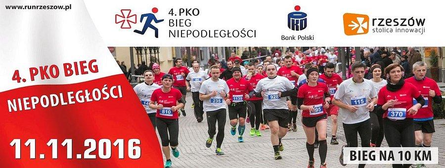4. PKO Bieg Niepodległości w Rzeszowie z PKO Bankiem Polskim
