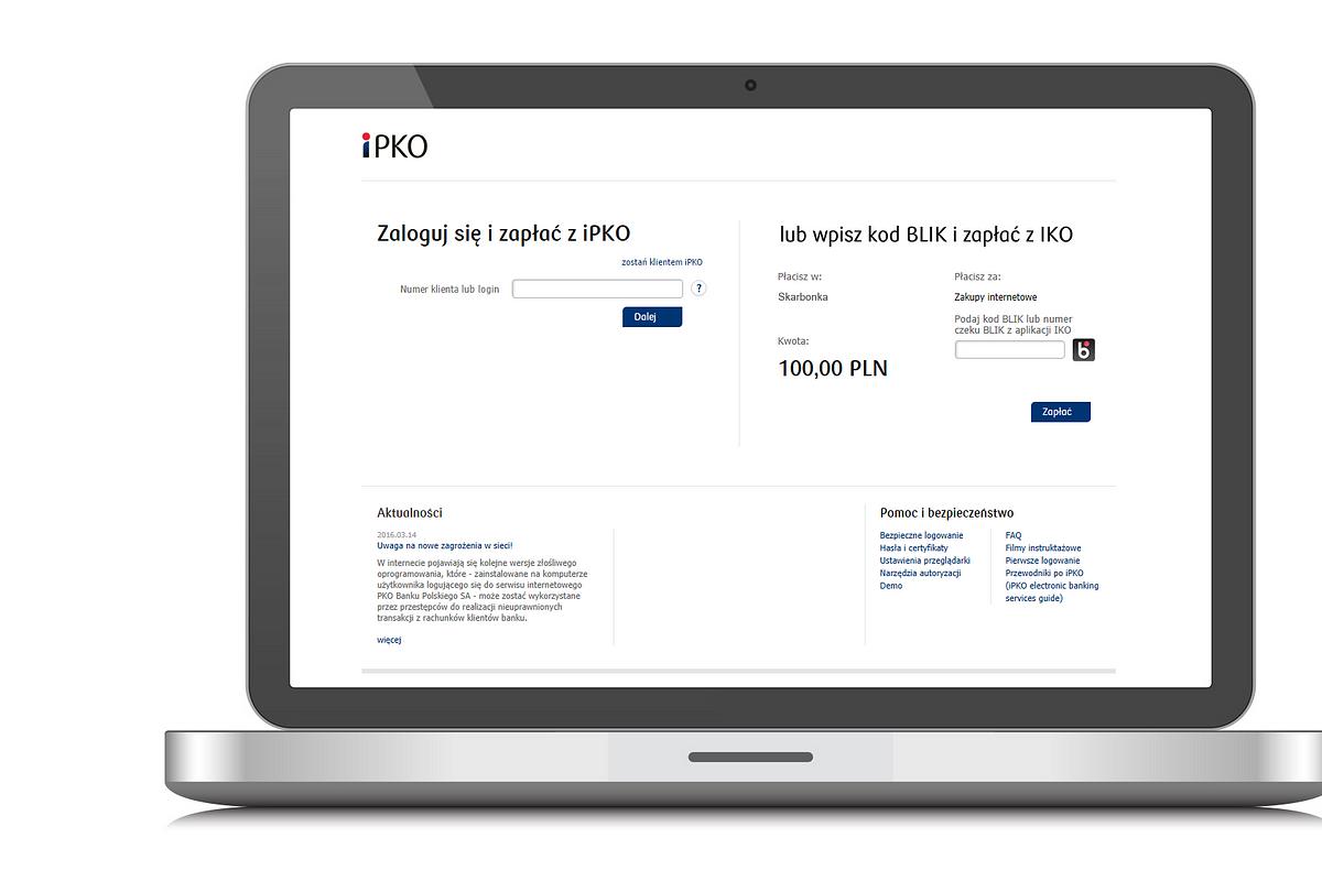 Klienci PKO Banku Polskiego coraz częściej płacą mobilnie w internecie