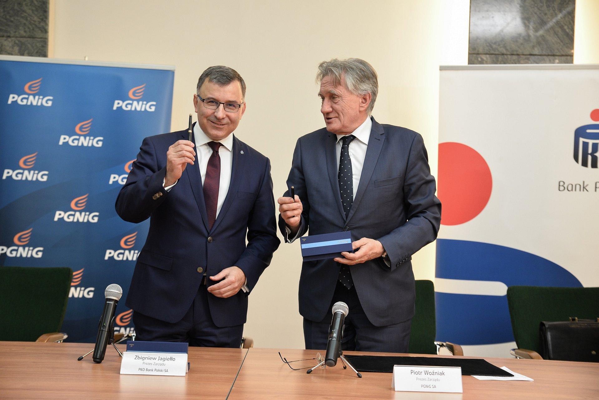 Strategiczna współpraca PKO Banku Polskiego i PGNiG