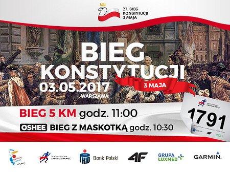 27. Bieg Konstytucji 3 Maja z PKO Bankiem Polskim