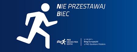 Gdynia pobiegnie z PKO Bankiem Polskim z okazji Dnia Europy