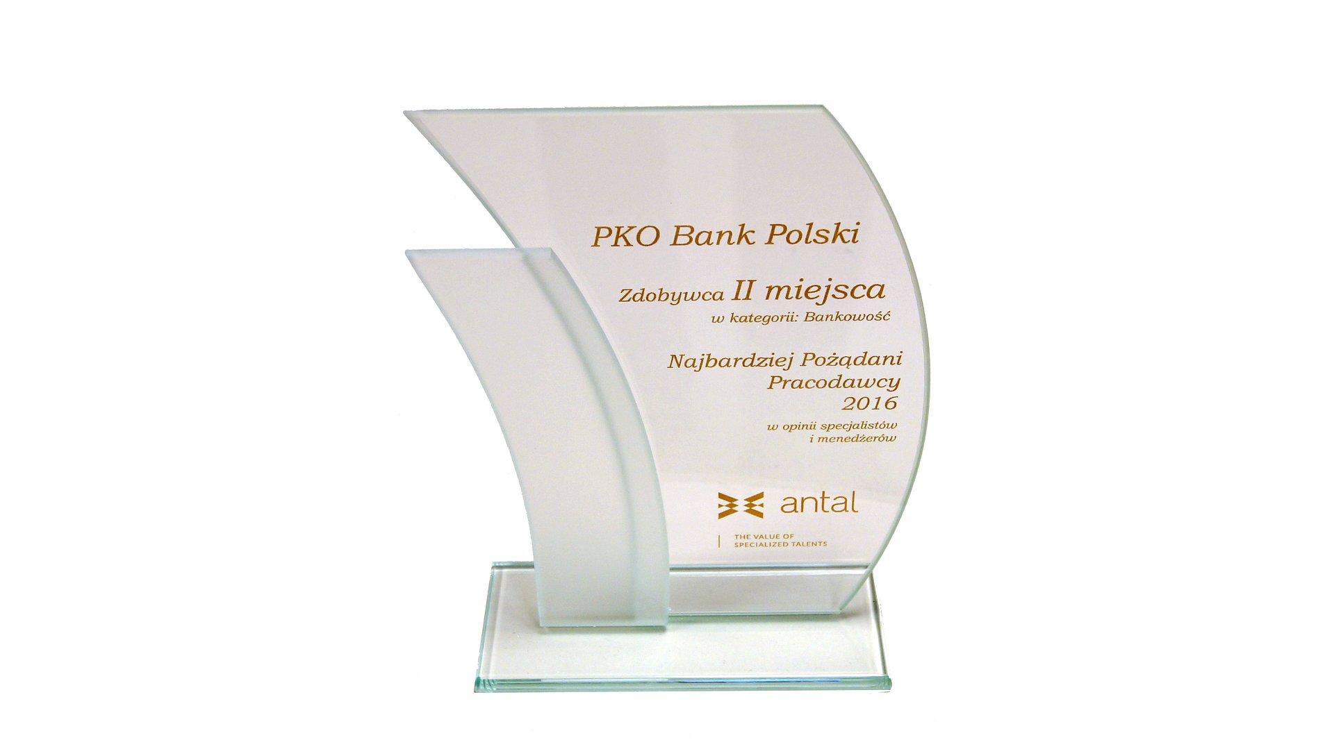 PKO Bank Polski pożądanym pracodawcą