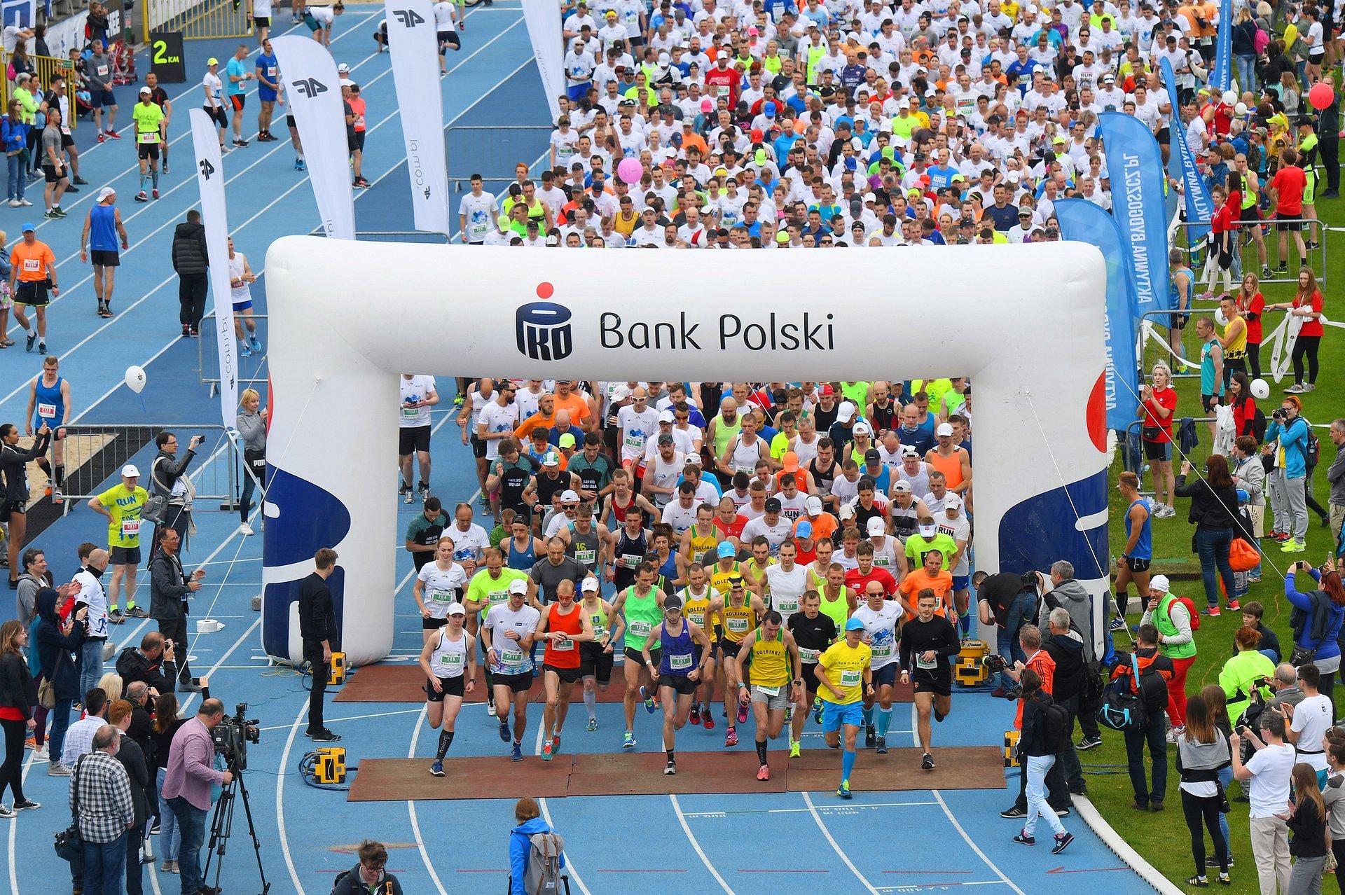 Ponad 3 tysiące uczestników 2. PKO Bydgoskiego Festiwalu Biegowego