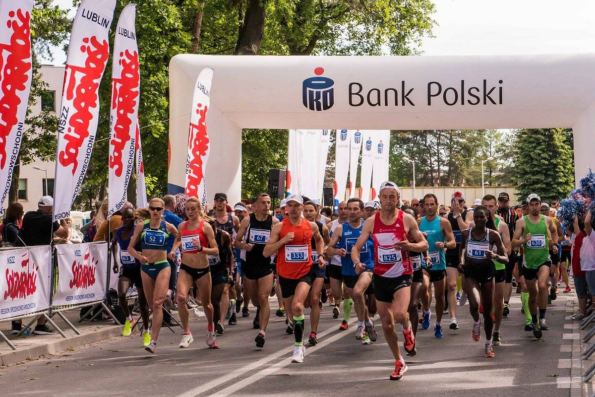 Pobiegli z Lublina do Świdnika z PKO Bankiem Polskim