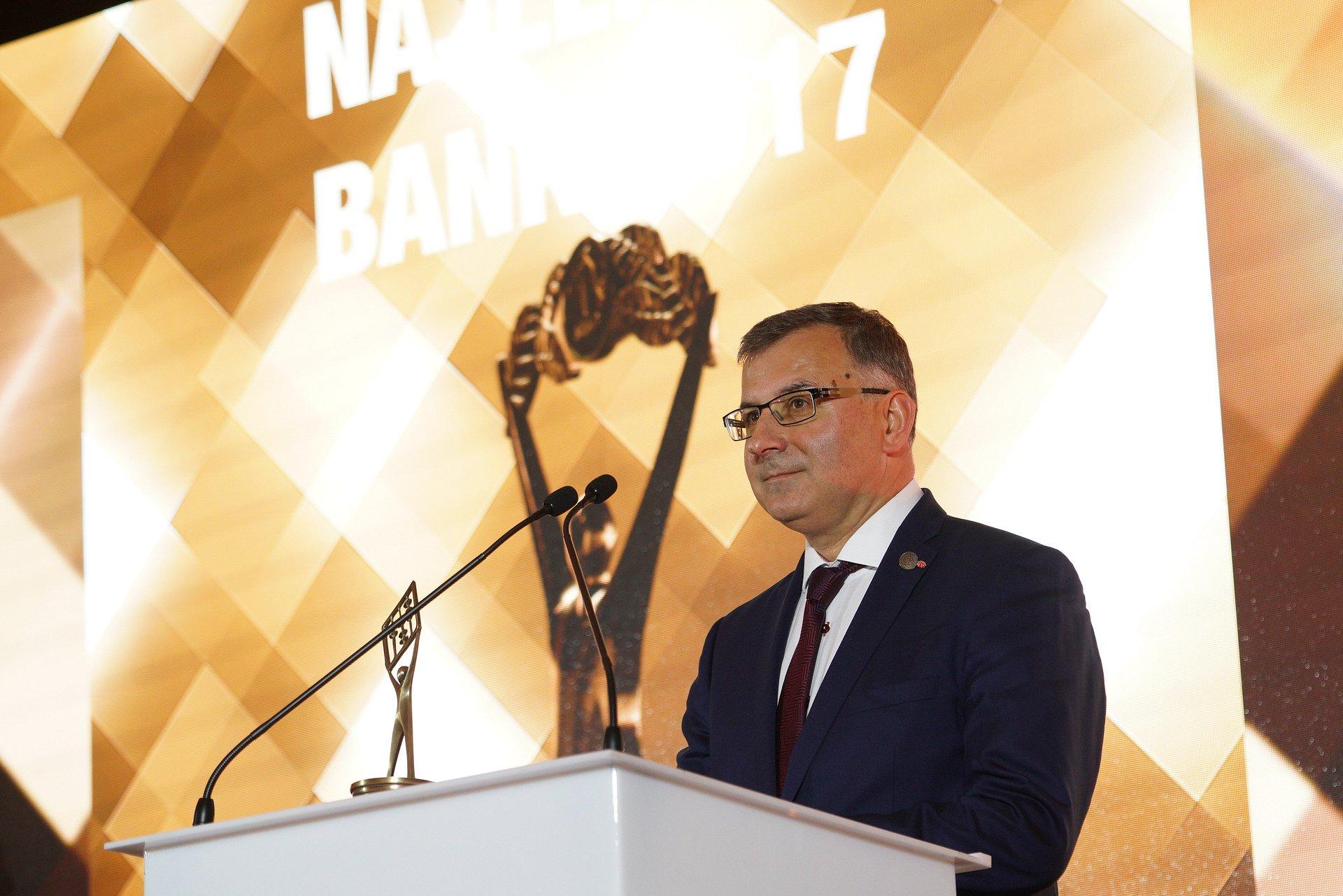 Zbigniew Jagiełło Bankowym Menedżerem Roku 2016