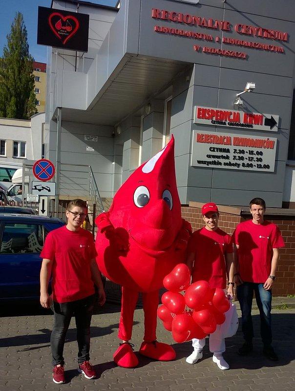 10 sierpnia Bankowa Akcja Honorowego Krwiodawstwa ponownie odwiedzi Bydgoszcz!