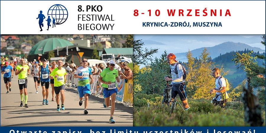W Krynicy-Zdroju rusza 8. PKO Festiwal Biegowy z PKO Bankiem Polskim