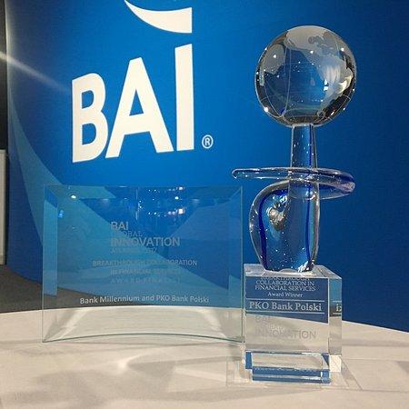 PKO Bank Polski nagrodzony w konkursie BAI Global Innovation Awards