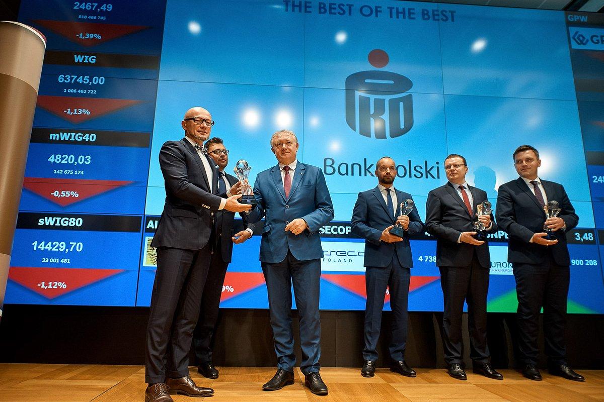 PKO Bank Polski najlepszy wśród instytucji finansowych w konkursie The Best Annual Report