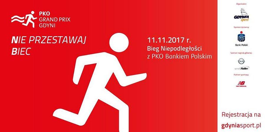 Bieg Niepodległości z PKO Bankiem Polskim w Gdyni