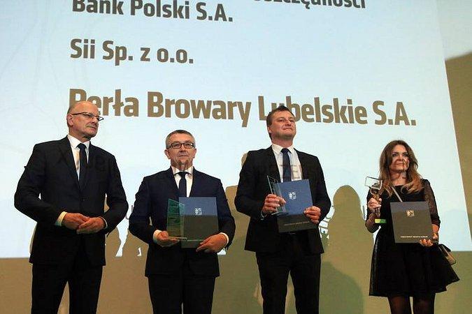 PKO Bank Polski wyróżniony w konkursie o Nagrodę Gospodarczą Prezydenta Miasta Lublin
