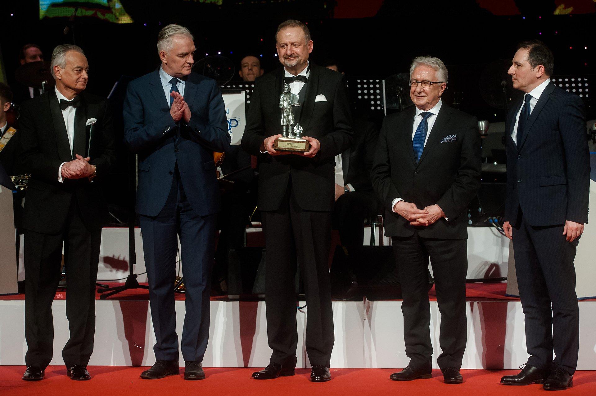 Andrzej Czyżewski, współtwórca rozwiązań biometrycznych w PKO Banku Polskim  z nagrodą Primum Cooperatio