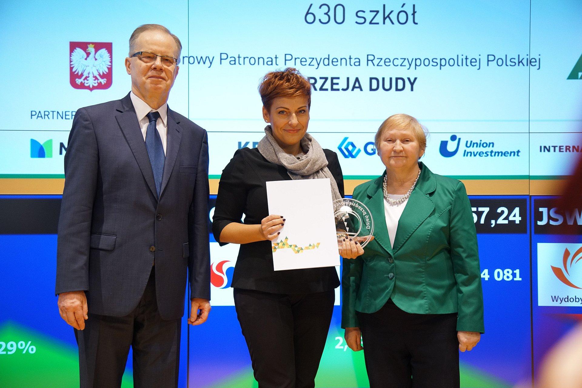 PKO Bank Polski z tytułem Najaktywniejszej Firmy