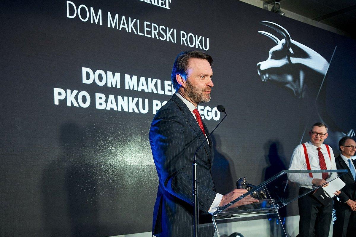 Dom Maklerski PKO Banku Polskiego zwycięzcą konkursu Byki i Niedźwiedzie