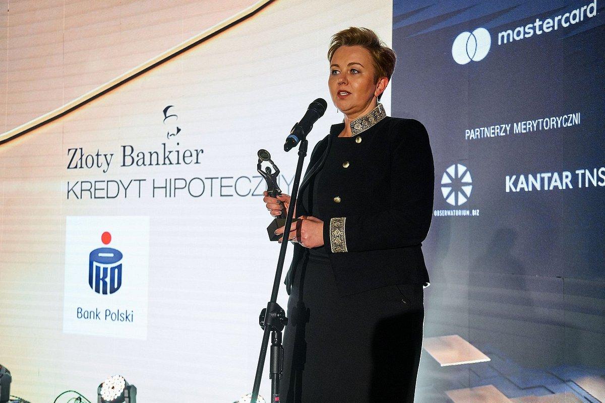 PKO Bank Polski zdobywcą kolejnej statuetki Złotego Bankiera w kategorii kredyt hipoteczny