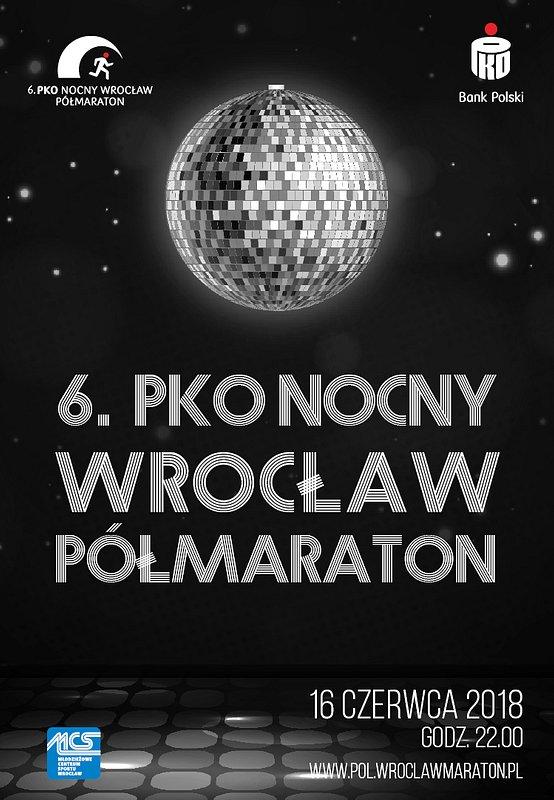 Polska pokochała bieganie nocą. 16 czerwca wystartuje 6. PKO Nocny Wrocław Półmaraton