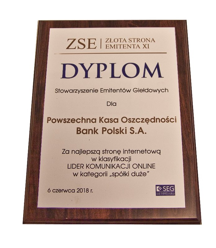 PKO Bank Polski liderem komunikacji online