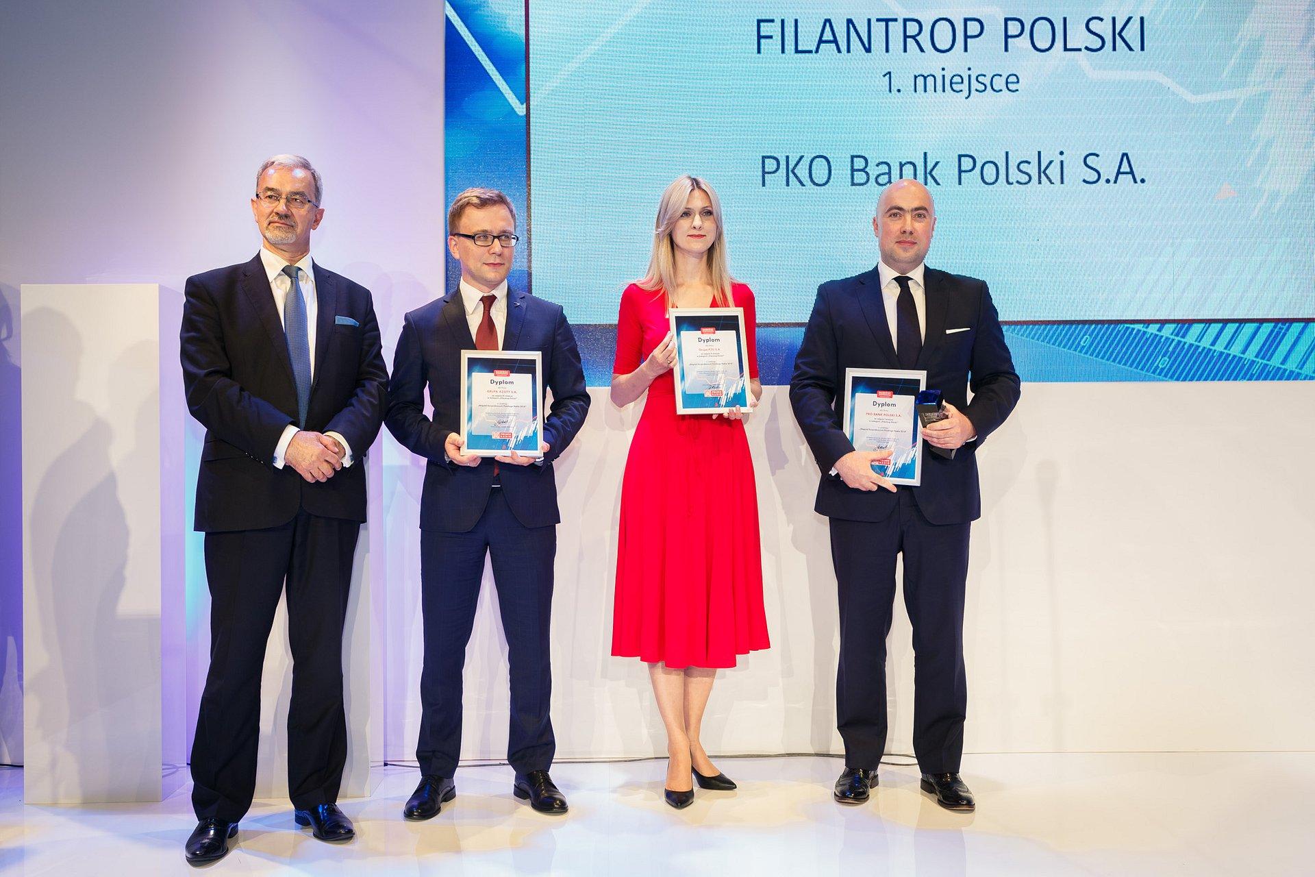 PKO Bank Polski z Nagrodą Gospodarczą Polskiego Radia