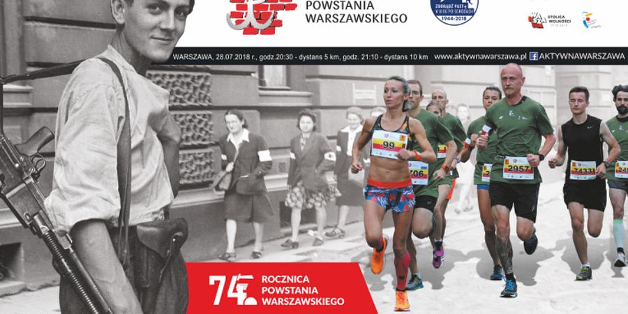 28. Bieg Powstania Warszawskiego. Zabiegaj o pamięć i pomoc dla dzieci!