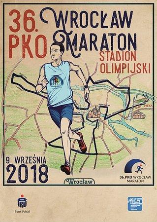 36. PKO Wrocław Maraton z akcentem patriotycznym