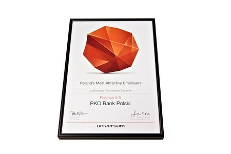 PKO Bank Polski wśród najatrakcyjniejszych pracodawców