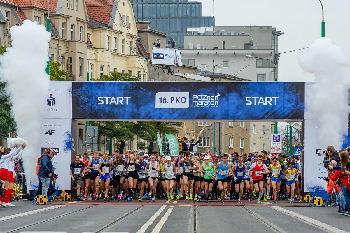19. PKO Poznań Maraton. Tysiące biegaczy powalczy o rekordy życiowe