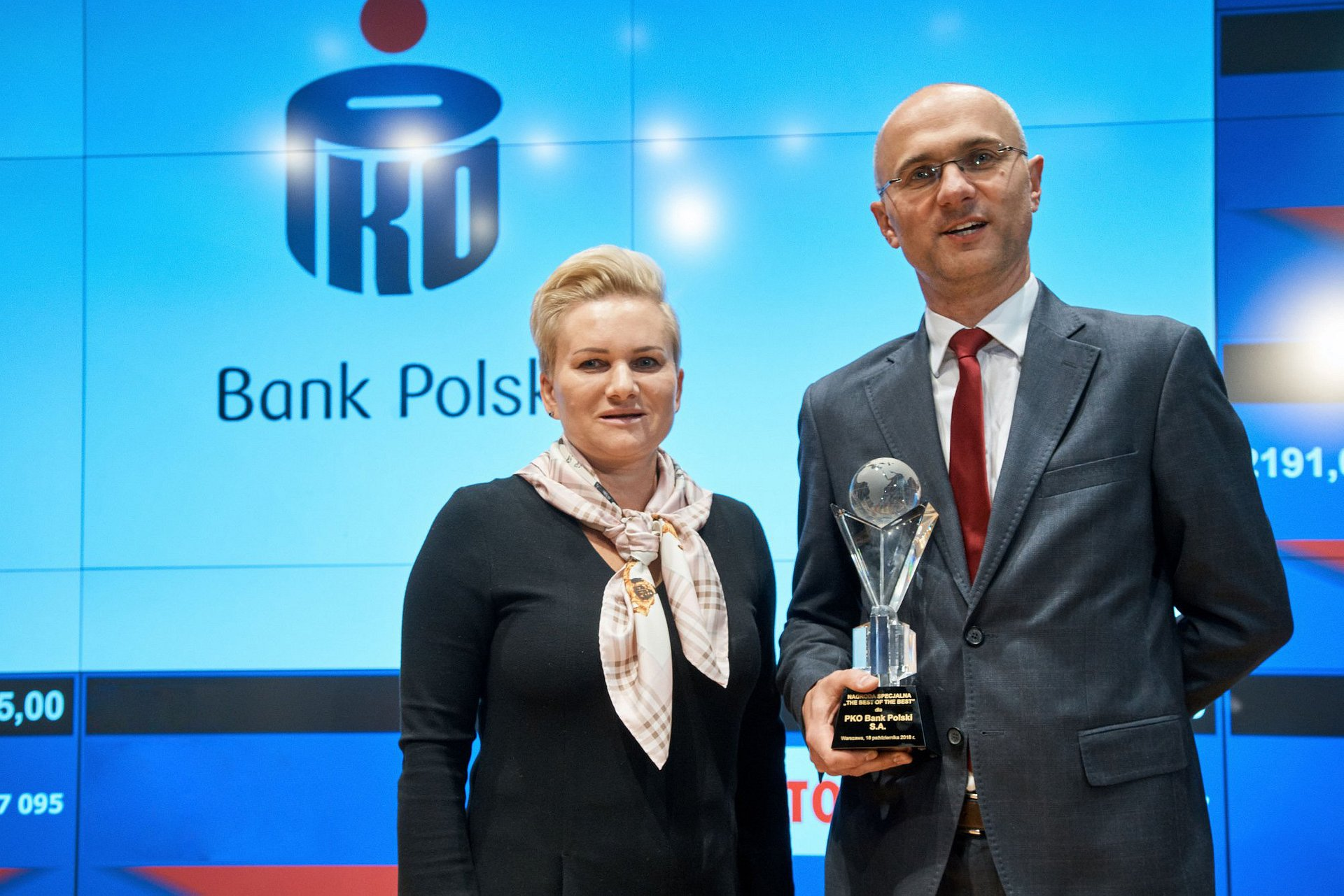 PKO Bank Polski liderem konkursu The Best Annual Report 2017