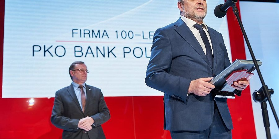 "PKO Bank Polski ""Firmą 100-lecia"""
