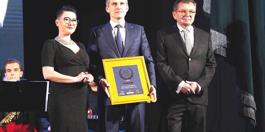 Złoty Laur Niepodległej dla PKO Banku Polskiego