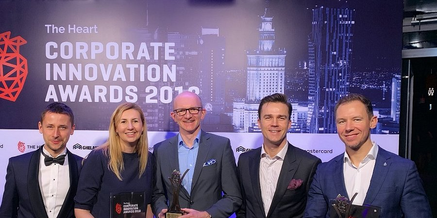 Dwie nagrody dla PKO Banku Polskiego w konkursie The Heart Corporate Innovation Awards 2018!