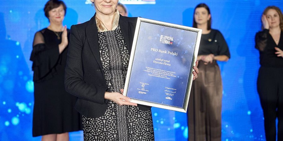 PKO Bank Polski Etyczną Firmą 2018