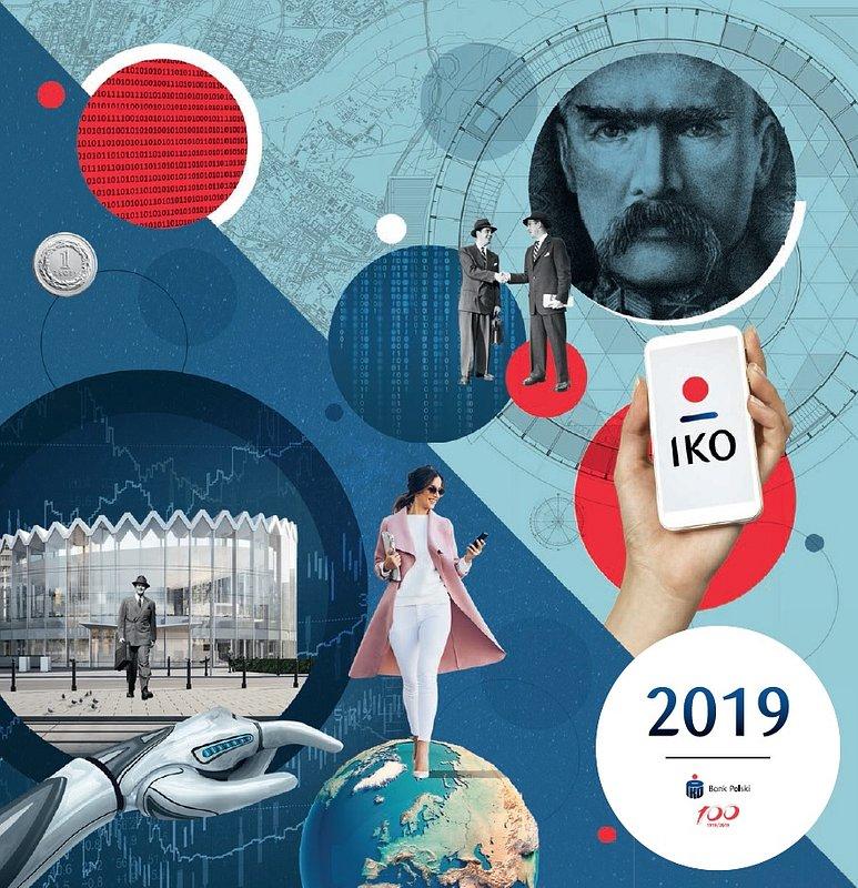 Kalendarz 100 lat śmiałych decyzji PKO Banku Polskiego potrójnie nagrodzony