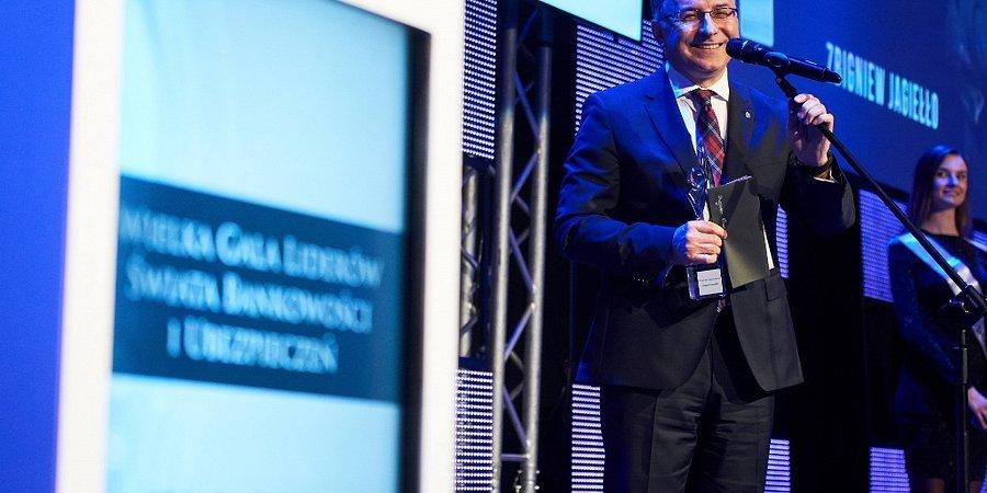 Zbigniew Jagiełło, prezes Zarządu PKO Banku Polskiego Wizjonerem Finansów