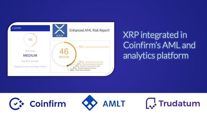 Coinfirm's AML & Analytics platform integrates XRP