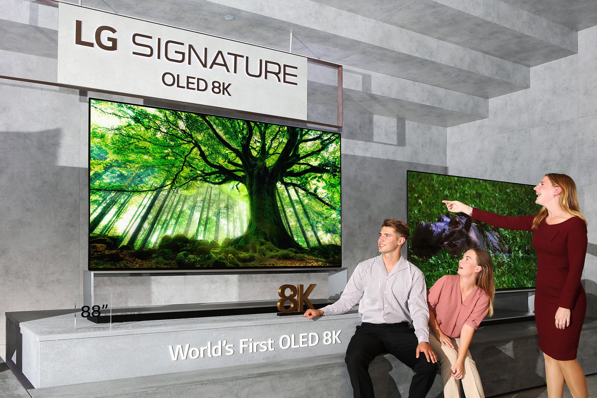 LG rozpoczyna sprzedaż pierwszego na świecie telewizora OLED o rozdzielczości 8K