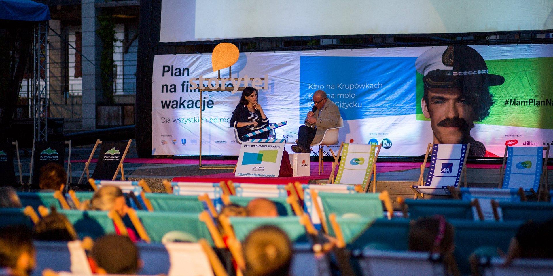Ponad 100 tys. widzów podczas festiwalu Kino Letnie Sopot-Zakopane!