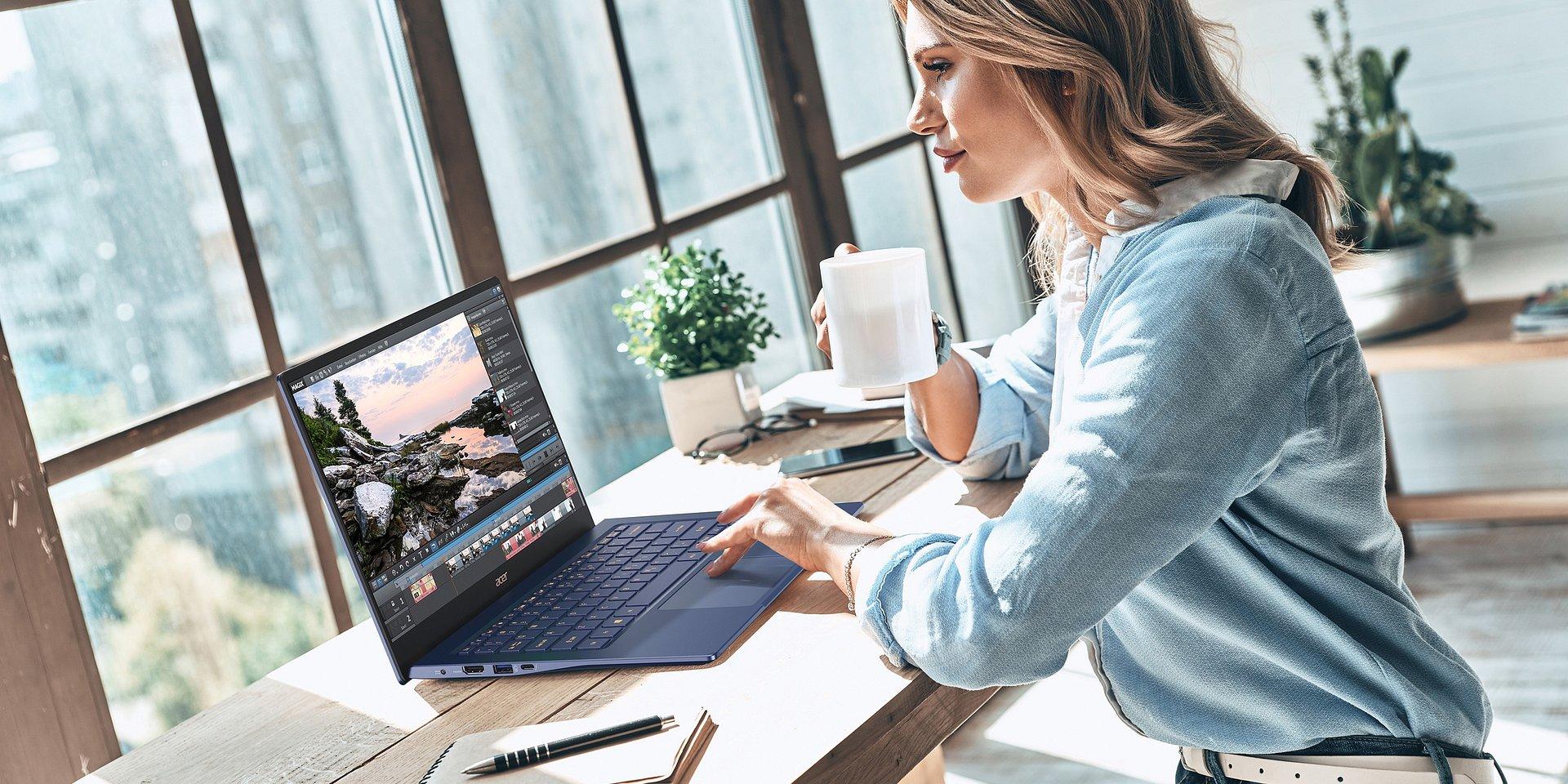 Nowy Acer Swift 5 to najlżejszy na świecie 14-calowy laptop. Teraz jest dostępny z dedykowaną kartą graficzną