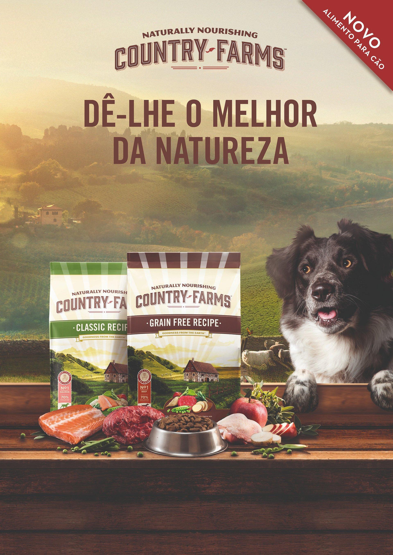 COUNTRY FARMS™ OFERECE O MELHOR DA NATUREZA AO SEU CÃPR_Country farms.pdfO