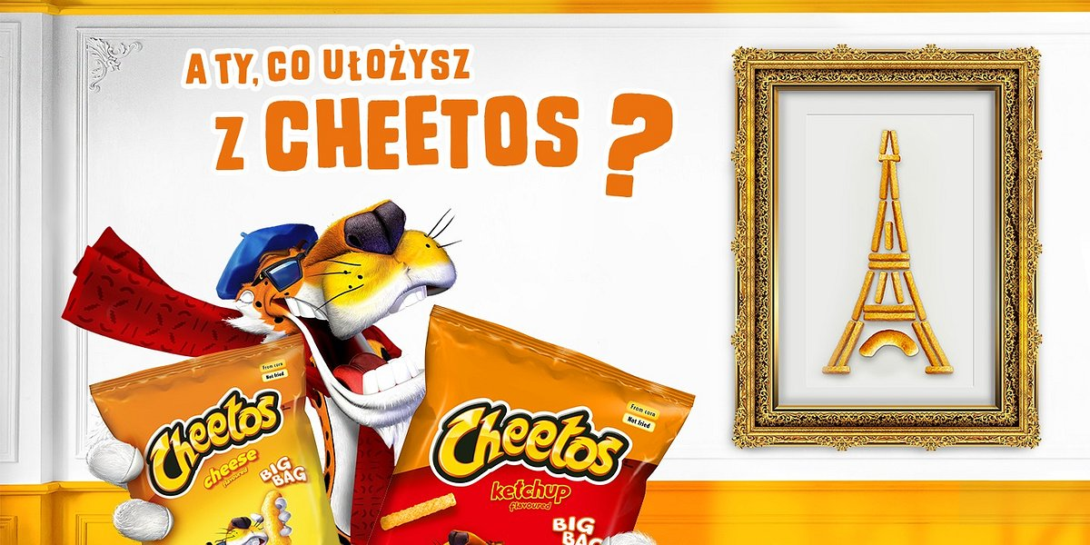A Ty, co ułożysz z Cheetos?